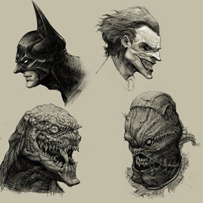 Some Creepy Bat-Characters