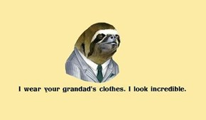 Thrift Sloth