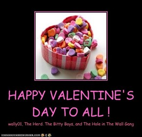 HAPPY VALENTINE'S DAY TO ALL !