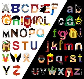 The Superhero Alphabet