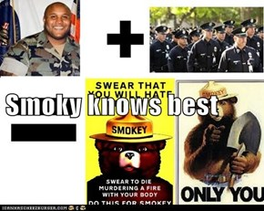 Smoky knows best