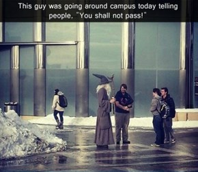 Gandalf: The Bearer of Failed Classes