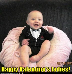 Happy Valentine's ladies!
