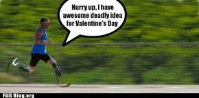Pistorius's Valentine's Day