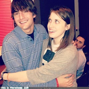 Overly Attached Photobomb