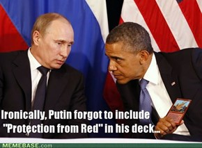 "Obama uses ""Meteor Shower"" on Putin..."