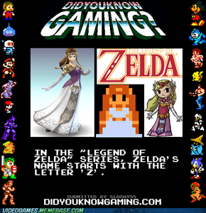 Interesting Zelda Fact