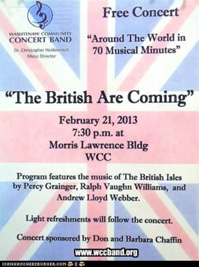 HMPH's next Concert