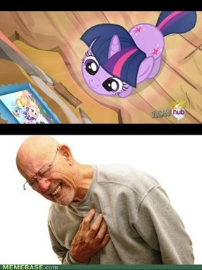 Twilight Sparkle, you are so cute.