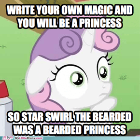 Bearded Princess