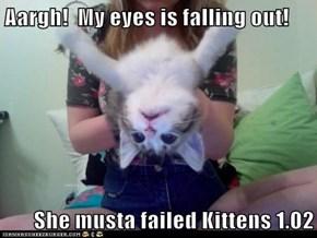 Help, I Forgot How to Kitten
