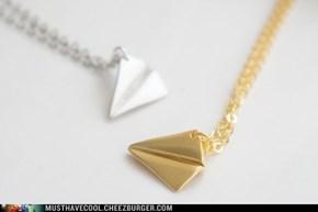 tiny folded plane