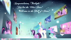 Welcome, Twilight, to the 'Hall of Fame'!