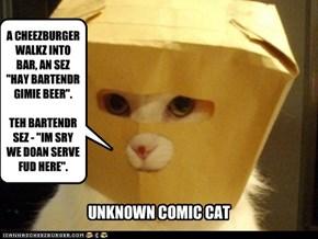 Unkown Comic Cat