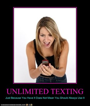 UNLIMITED TEXTING