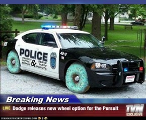 Breaking News - Dodge releases new wheel option for the Pursuit