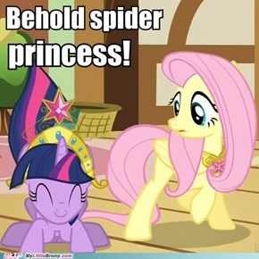 Behold spider princess!
