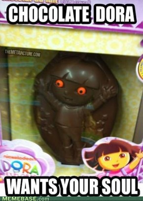 A not so sweet Dora.