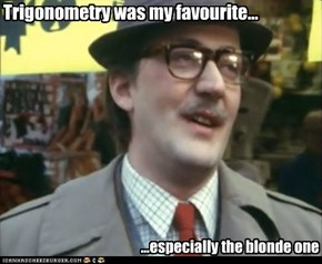 Trigonometry was my favourite...