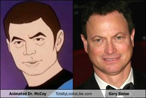 Animated Dr. McCoy Totally Looks Like Gary Sinise
