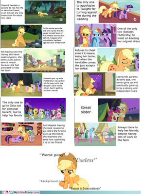 Applejack is best pony!!