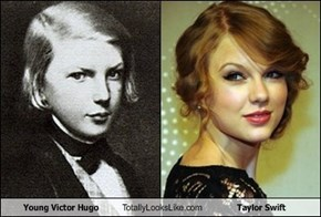 Young Victor Hugo Totally Looks Like Taylor Swift