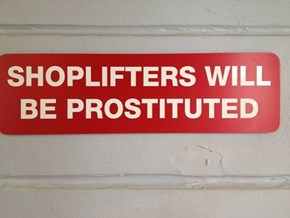 Typo, or Brilliant Anti-Theft Strategy?