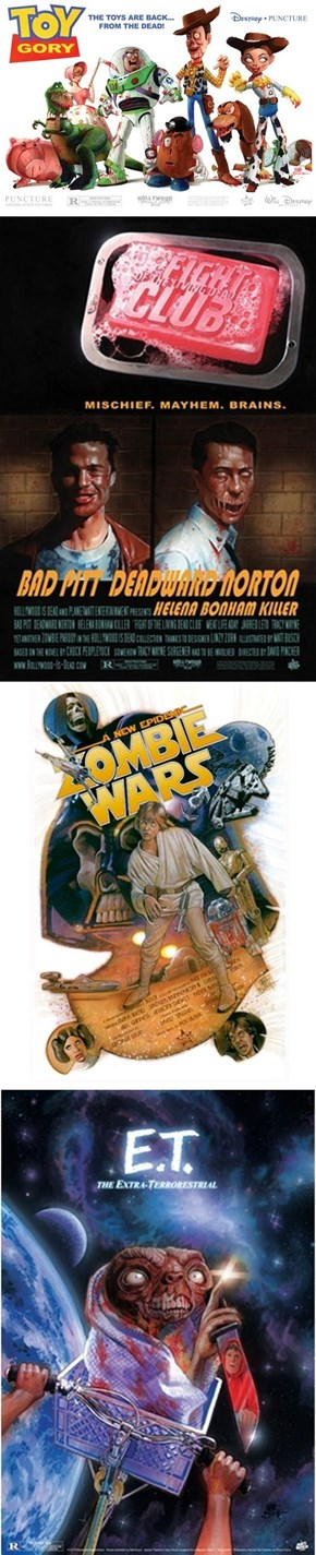 Movie Posters Zombified