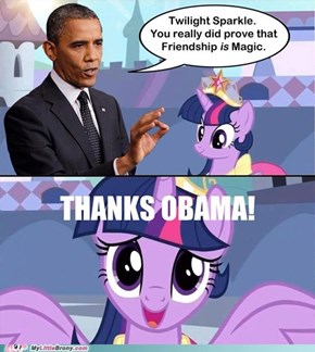 Obama aproves Twilight Alicorn