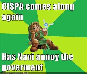 CISPA comes along again  Has Navi annoy the goverment