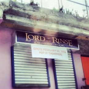 Sauron's Laundromat of Choice