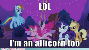 Pinkie Pie you so funny