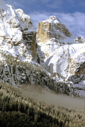 The View From Alta Badia in the Dolomites