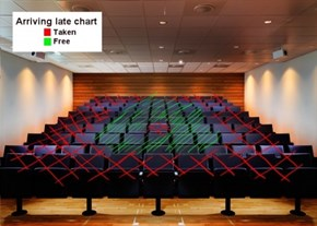 The Lecture Hall Seating Chart