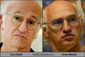 Larry David Totally Looks Like Carlos Bianchi