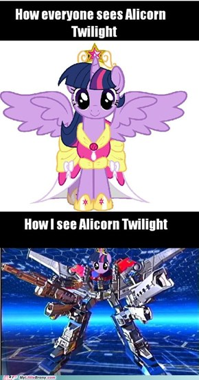 Twilight Sparkle: Super Mode!