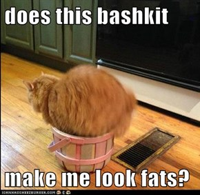 does this bashkit   make me look fats?