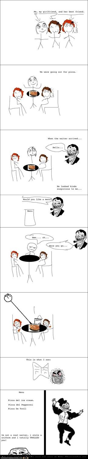 Troll Waiter