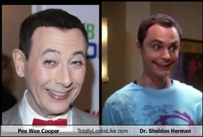 Pee Wee Cooper Totally Looks Like Dr. Sheldon Herman
