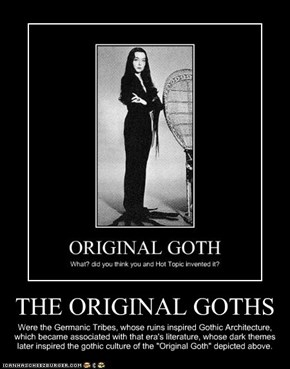 THE ORIGINAL GOTHS