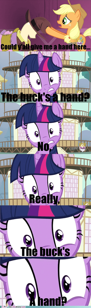 Twi knows too much