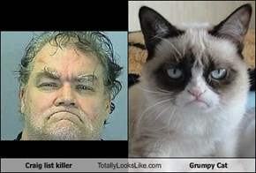 Craig list killer Totally Looks Like Grumpy Cat