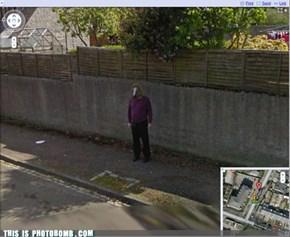 Trolling Google street.