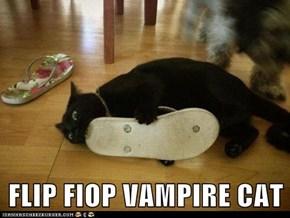 FLIP FlOP VAMPIRE CAT