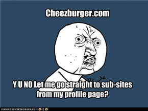 Y U Make Me Go Back To Main Page?
