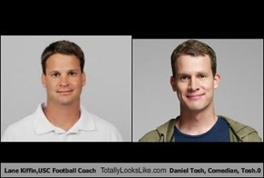 Lane Kiffin,USC Football Coach Totally Looks Like Daniel Tosh, Comedian, Tosh.0