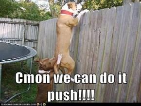 Cmon we can do it push!!!!