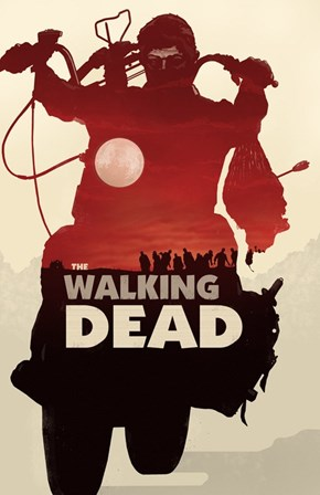 "Amazing Fan Art Poster for ""The Walking Dead"""