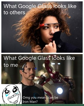 Wait, you mean I can be Iron man?