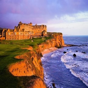 At the Cliffs of the Ritz Carlton Half Moon Bay, California